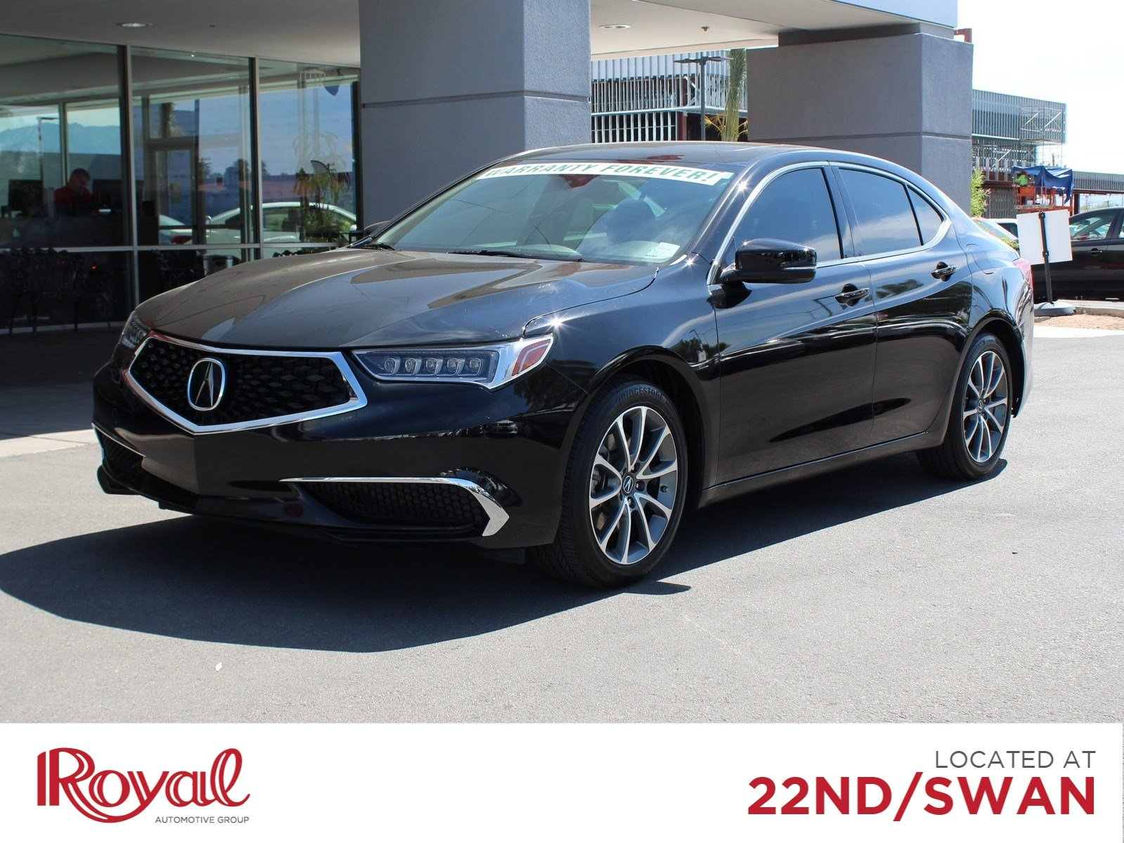 Pre-Owned 2018 Acura TLX V6