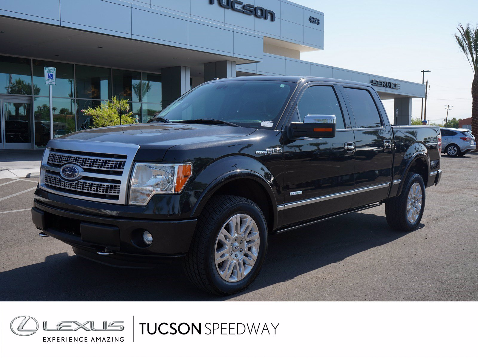 Pre-Owned 2012 Ford F-150 Platinum 4X4