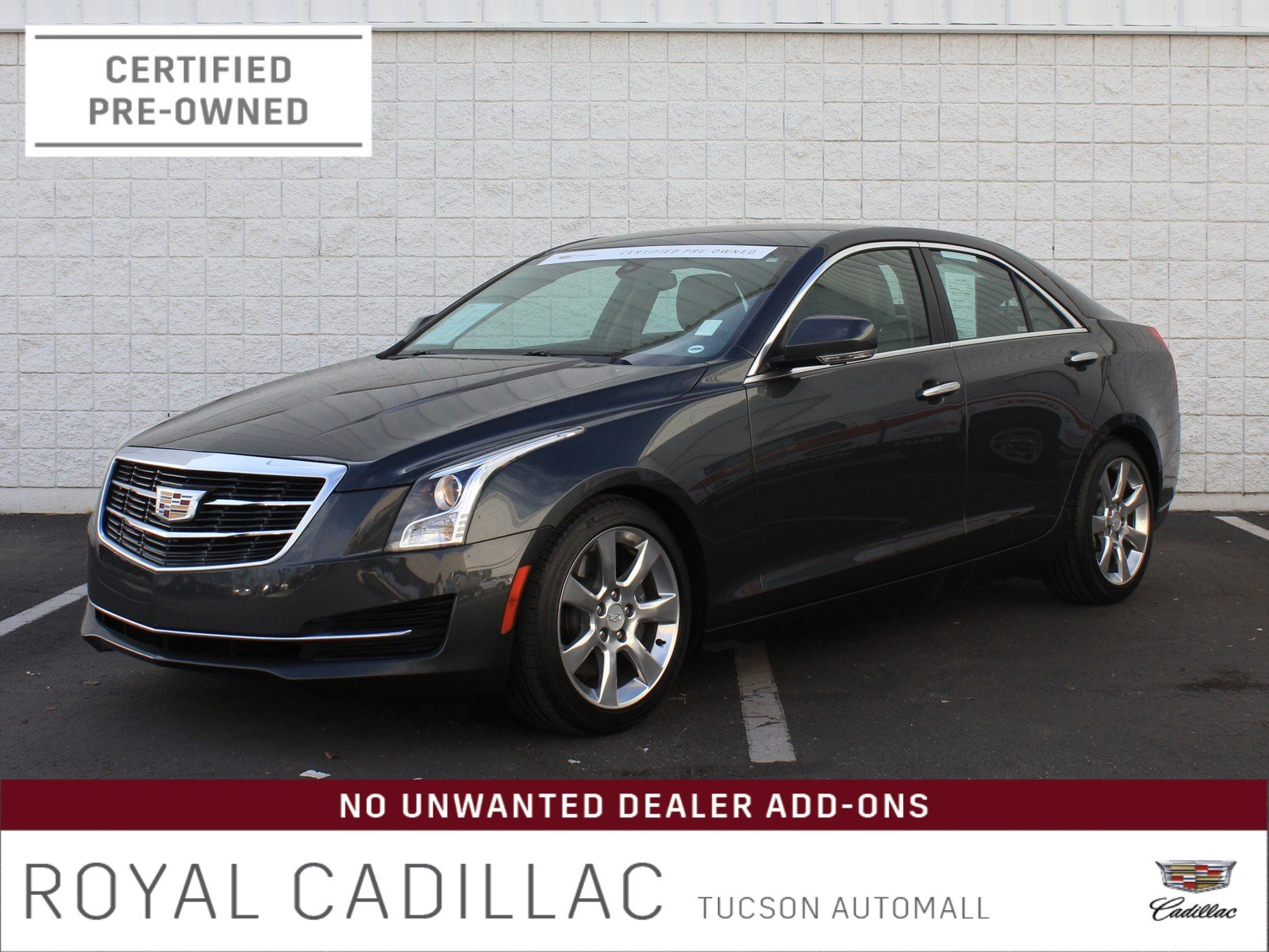 Certified Pre-Owned 2016 Cadillac ATS Sedan Luxury Collection RWD