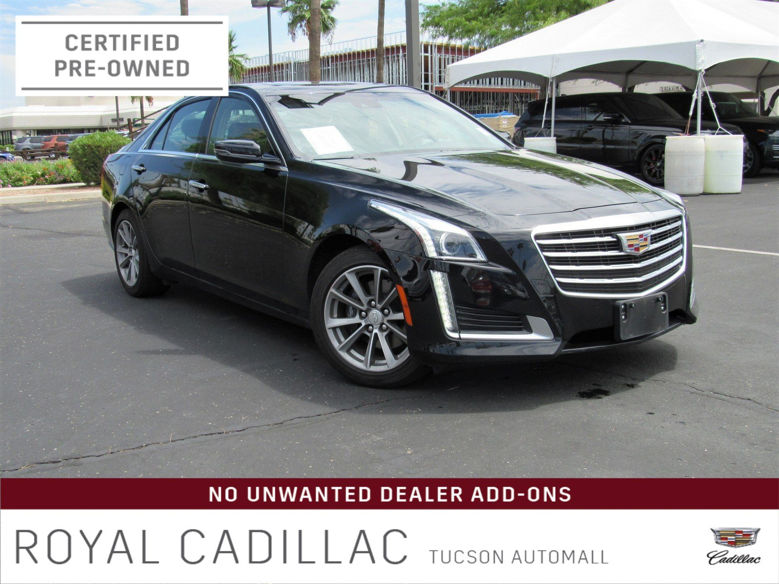 Certified Pre-Owned 2019 Cadillac CTS Sedan Luxury RWD