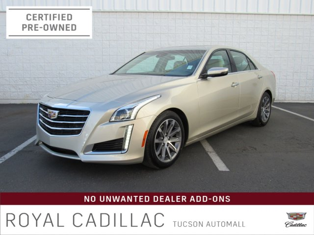 Certified Pre-Owned 2016 Cadillac CTS Sedan Luxury Collection RWD