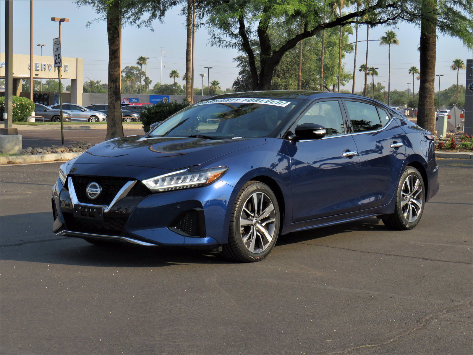 Pre-Owned 2019 Nissan Maxima SL