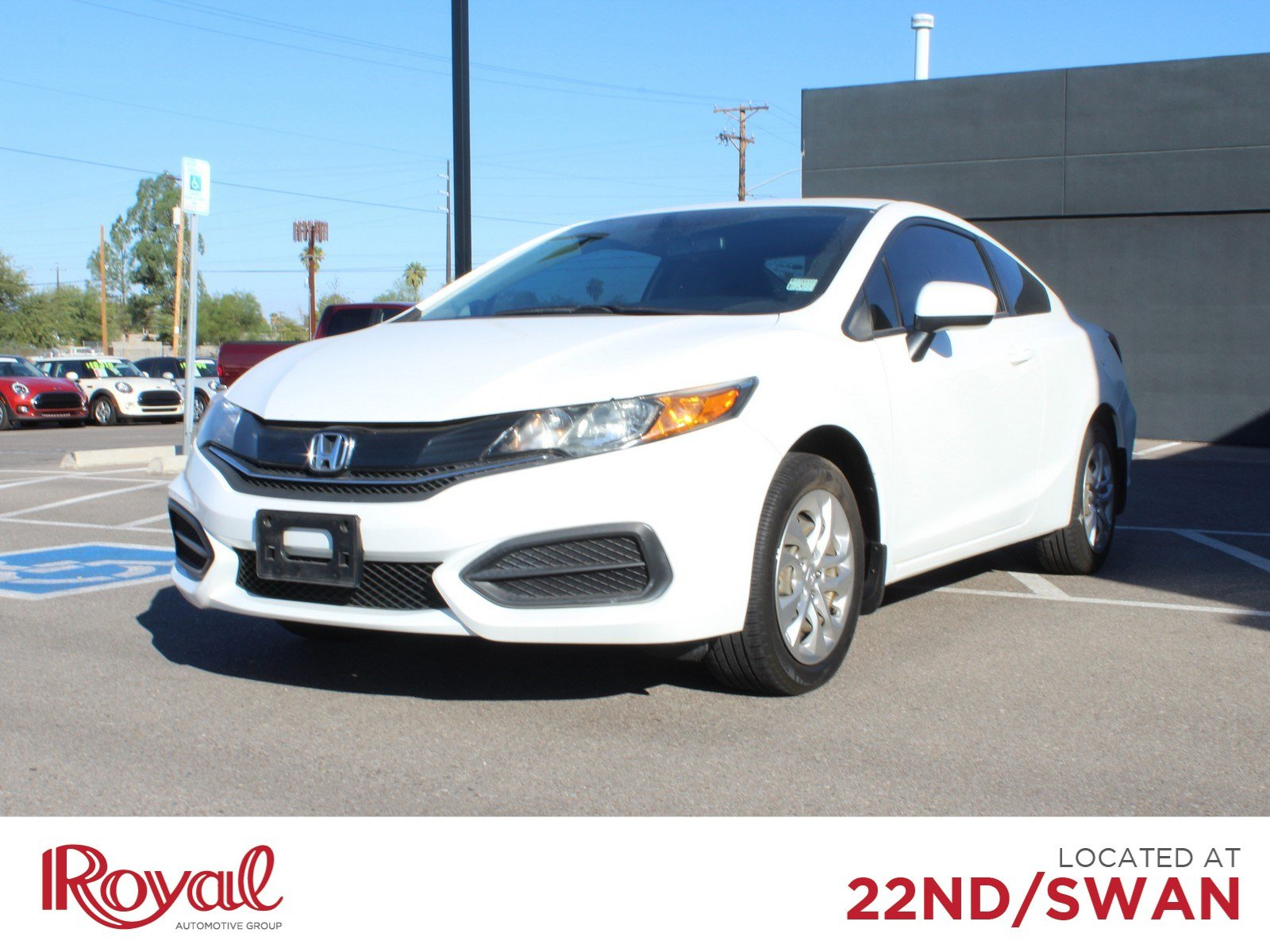 Pre-Owned 2014 Honda Civic Coupe LX
