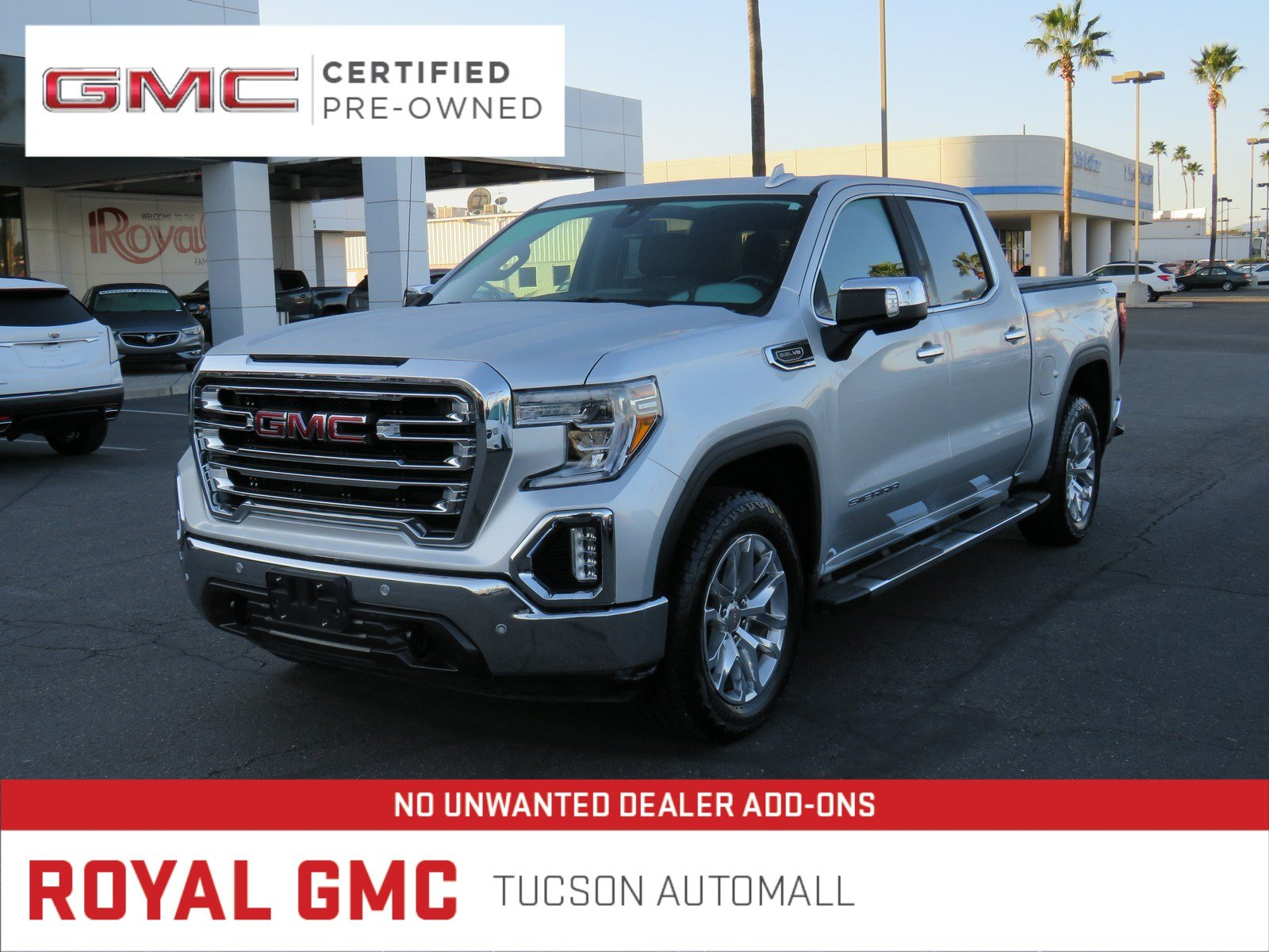 Certified Pre-Owned 2019 GMC Sierra 1500 SLT
