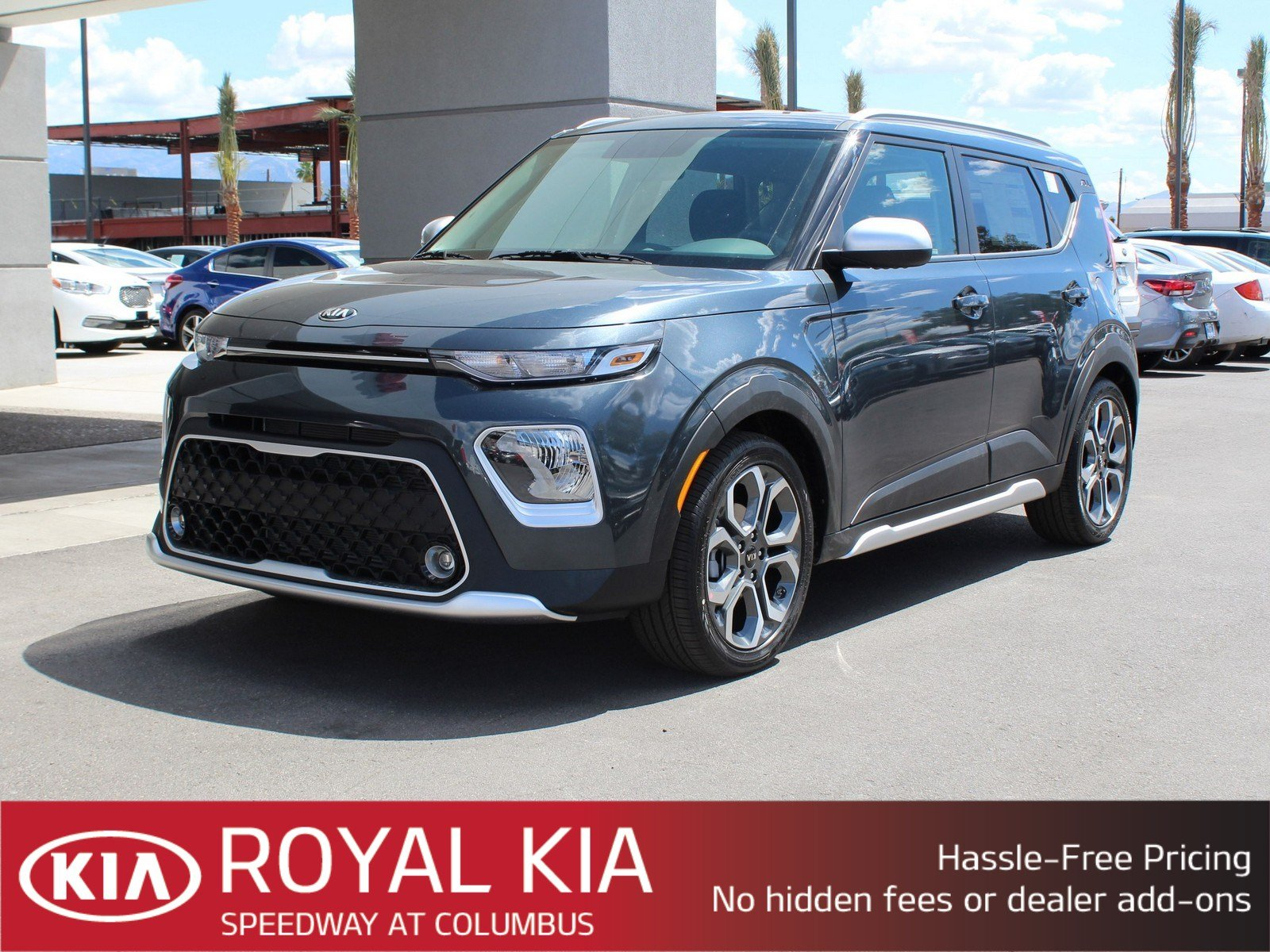 New 2020 Kia Soul X Line Hatchback In Tucson K23432 Royal Kia