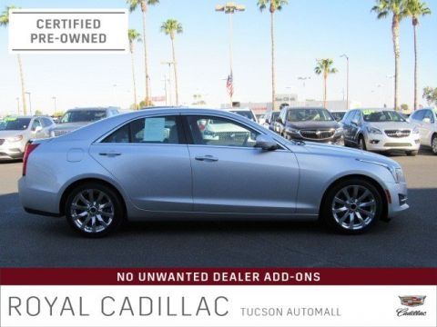 Certified Pre-Owned 2017 Cadillac ATS Sedan Luxury RWD