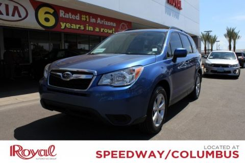 Pre-Owned 2015 Subaru Forester 2 5i Premium Sport Utility in Tucson